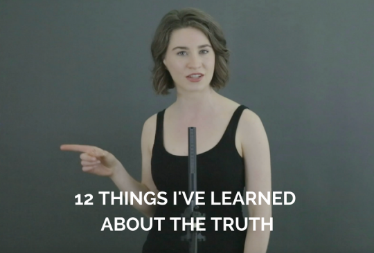 12 Things I've Learned About The Truth | Spoken Word Poetry